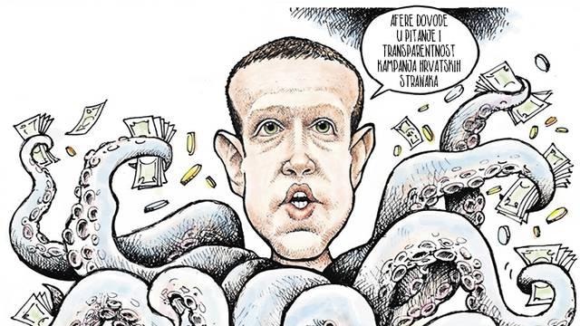 Svijet bojkotira Facebook, a HDZ i SDP mu daju milijune