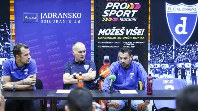 Zagreb: Konferencija za medije Futsal Dinama
