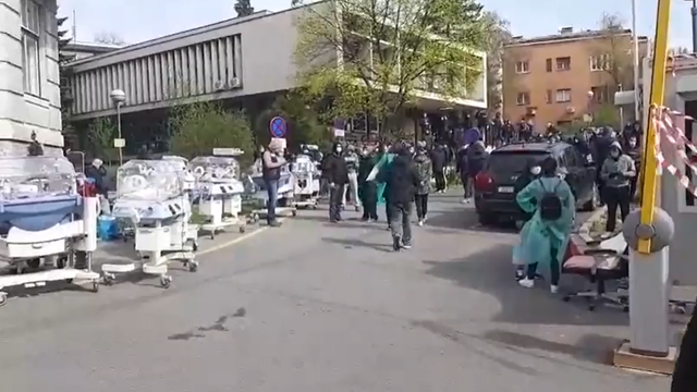 Navijači opet na prvoj crti: Boysi sele bolnicu u Petrovoj