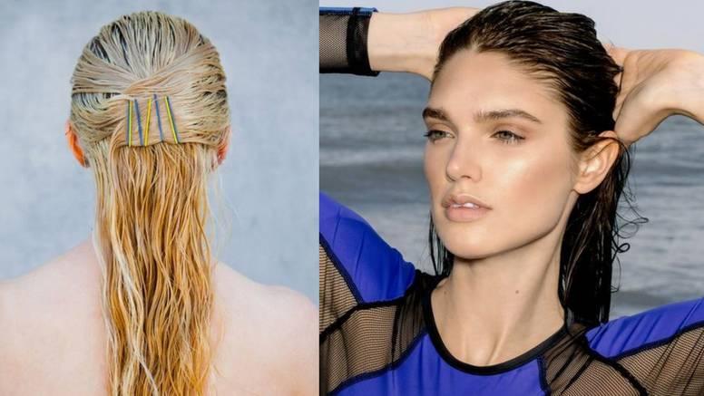 Wet-look stil: 5 frizura koje ćete složiti bez muke, čak i na plaži