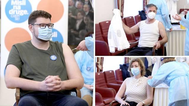 Zastupnici se cijepili, neki su odbili: 'Bilo bi me sram uzeti cjepivo pored rizičnih skupina'