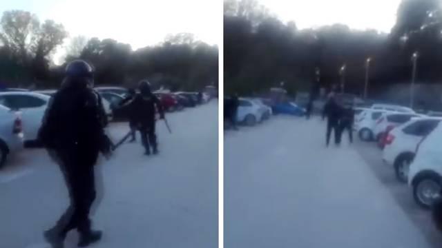 Navijači: Tukli su maloljetnike! Policija: Gađali su kamenjem