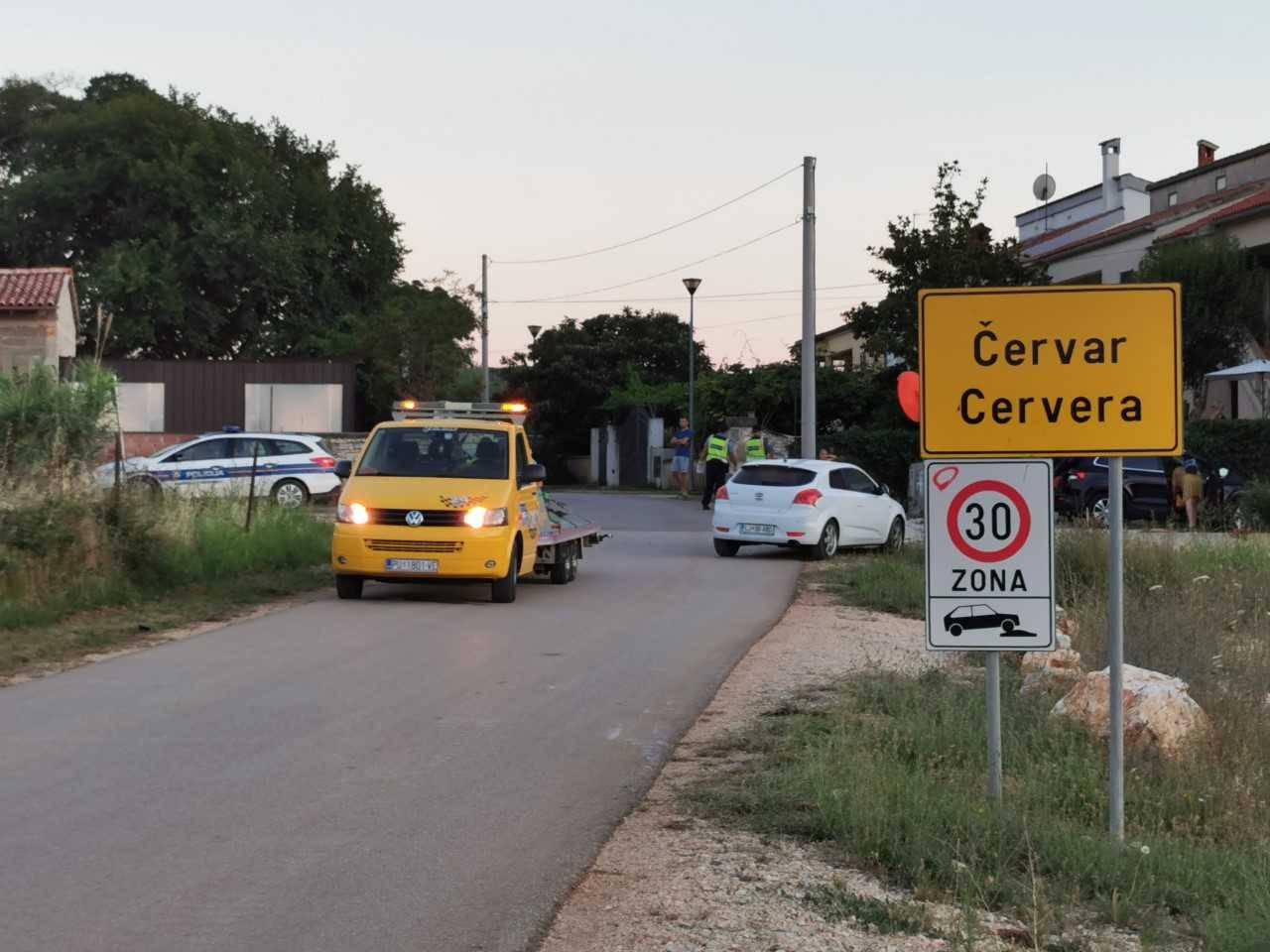 Nesreća kod Poreča: Motociklist završio u bolnici nakon sudara