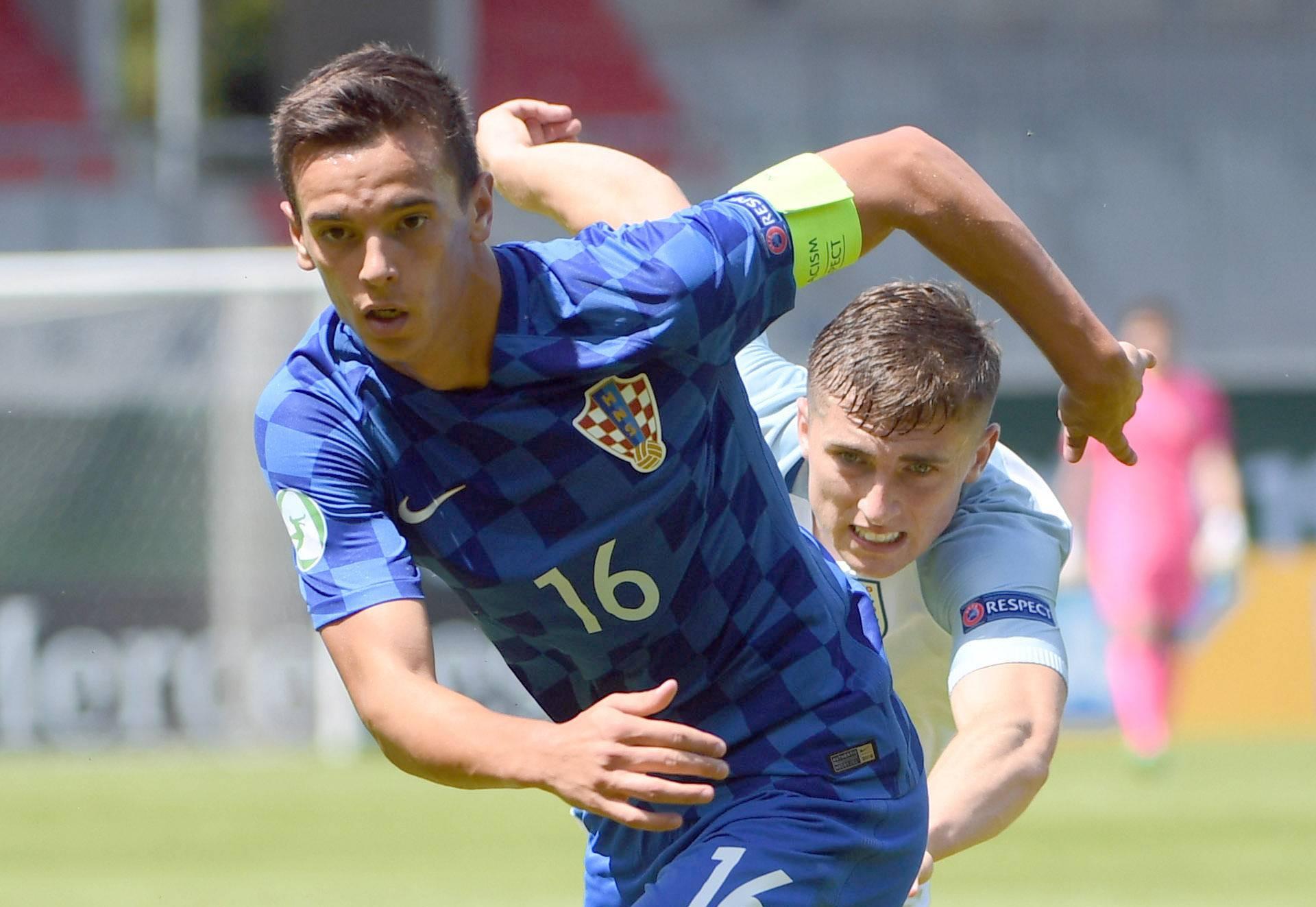 U19 European Championship: England vs. Croatia