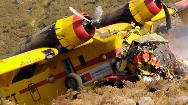 Portugalski kanader srušio se u Španjolskoj, piloti su kritično