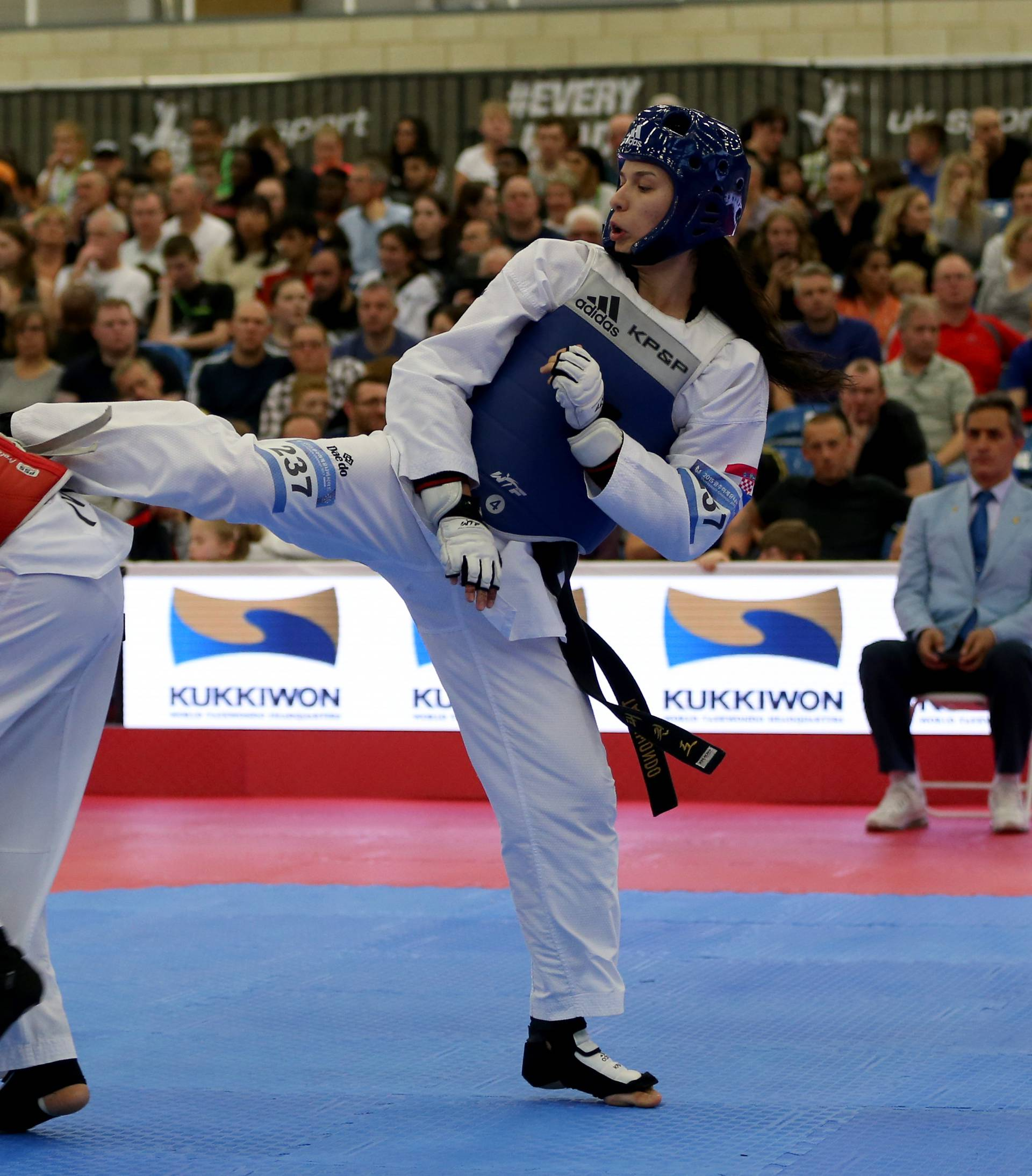 Taekwondo - WTF World Taekwondo Championships - Day Two - Manchester Regional Arena
