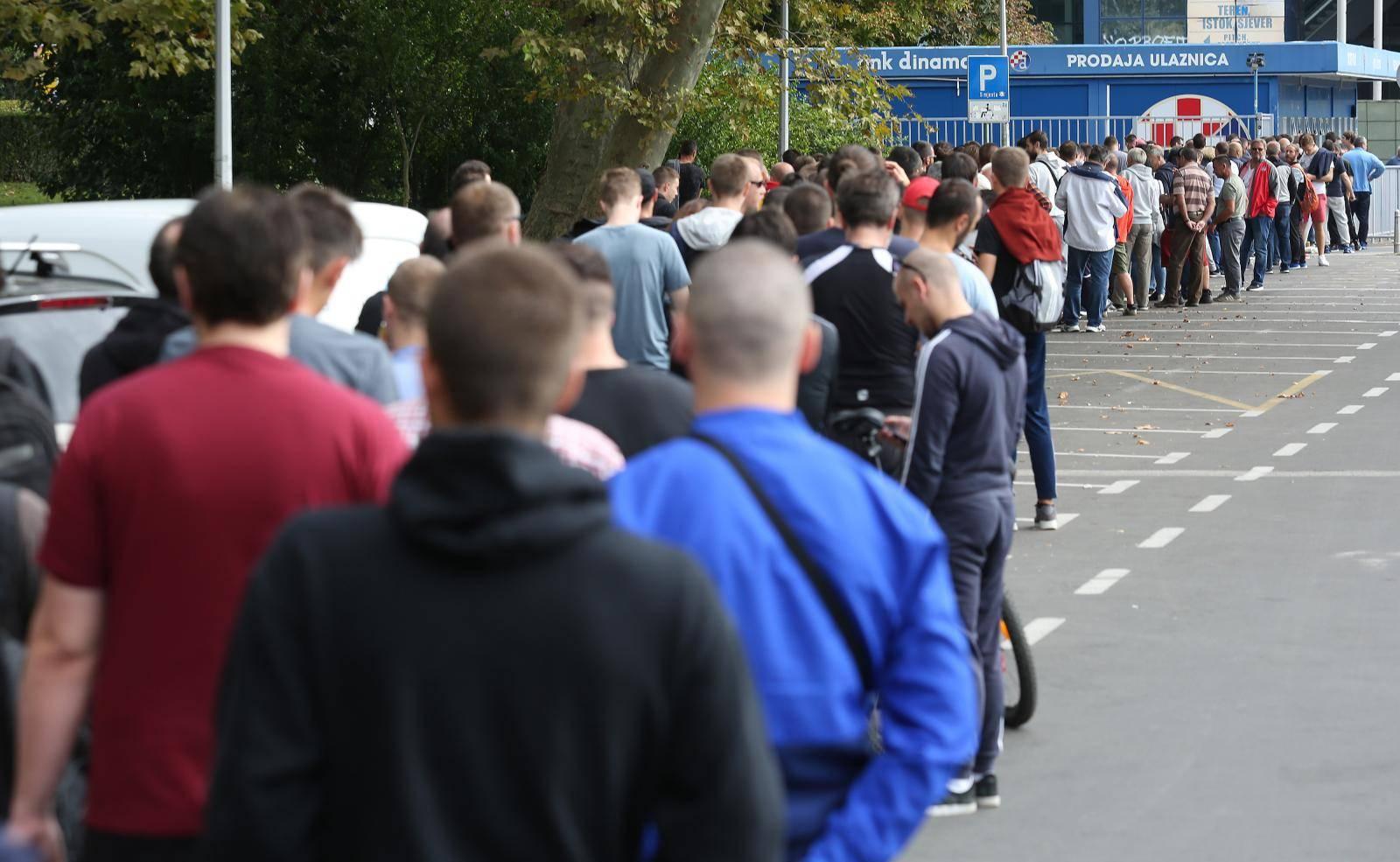 Zagreb: Velik interes za ulaznice za utakmicu GNK Dinamo i Atlanta Bergamo
