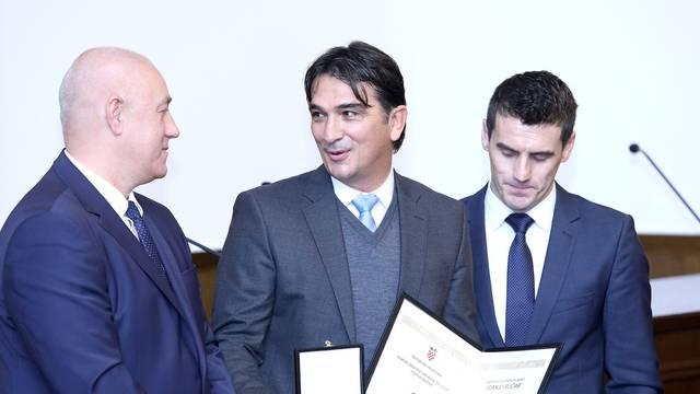 Zagreb: Dodijeljene državne nagrade za sport Franjo Bučar