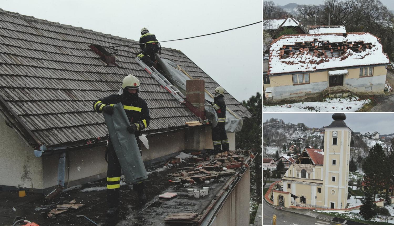 Prizori užasa iz zraka: Ovo su domovi iz epicentra potresa...