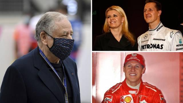 Todt: Schumacher je preživio zahvaljujući supruzi Corinni