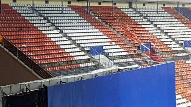Navijači pohrlili po suvenire: S Calderona nestalo 2000 stolica