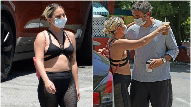 Lady GaGa šetala u grudnjaku s dečkom, a svi komentiraju kako se 'opustila' s kilogramima...