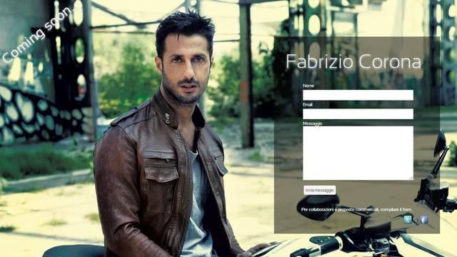 Screenshot/Fabriziocorona.it