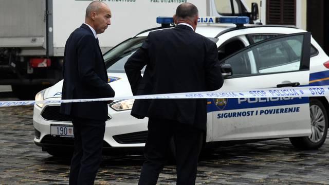 Zagreb: Na Trgu svetog Marka upucan je policajac