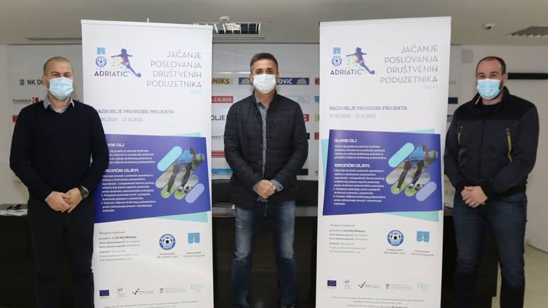 Za projekt edukacije NK Adriatic  povlači milijun kuna iz EU fonda