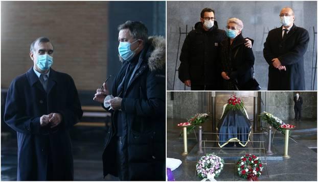Obitelj i kvizaši u suzama su ispratili voljenog Lazu Golužu