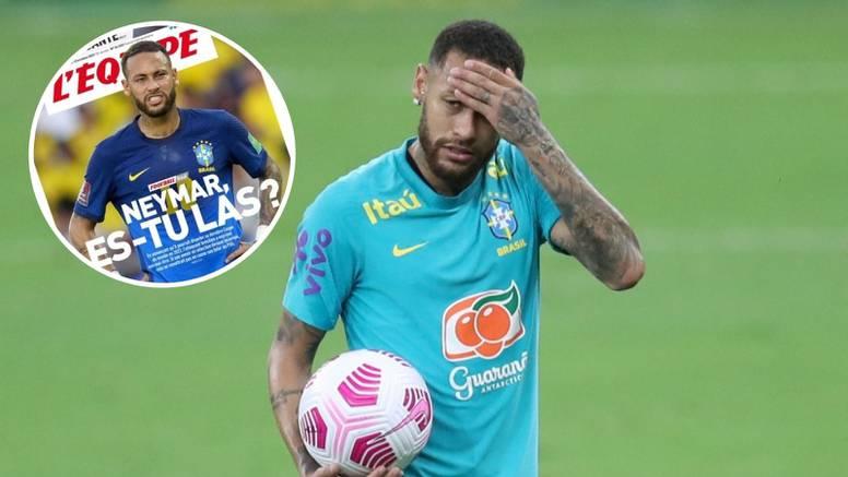 L'Equipe: Neymaru, umoran si?
