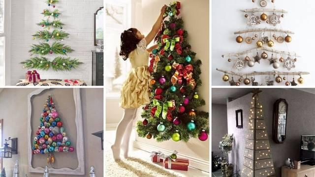Za male stanove: Super ideje kako napraviti 'drvce' na zidu