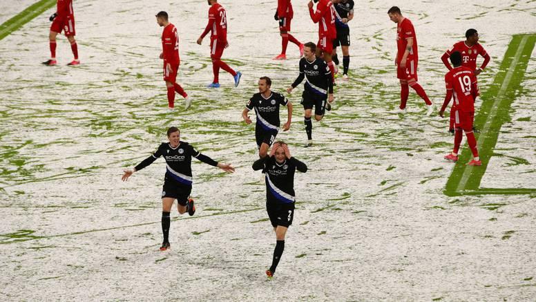 Bayern jedva do boda: Otopio se snijeg pa i prednost Arminije