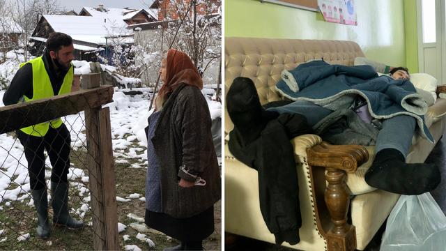 Dan i noć s volonterima: 'Došli smo baki koju nisu posjetili ni da joj previju rane. Plakao sam'