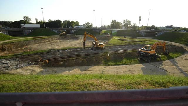 Zagreb: Radovi na rekonstrukciji rotora i prilaznih cesta