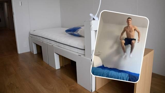 Olimpijcima postavili anti-seks krevete? Irac je otkrio istinu...