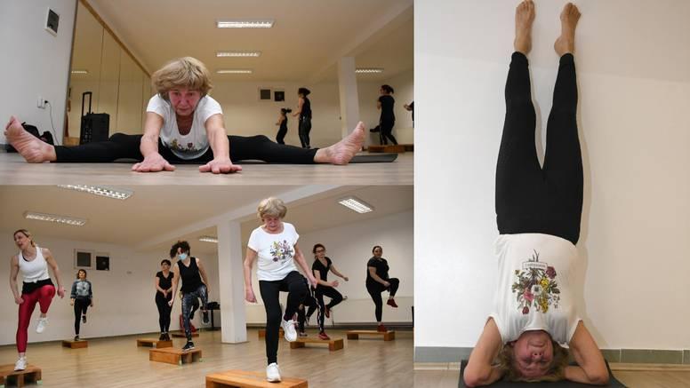 Superbaka Anica (80): Svoj dan započinje s 'pet Tibetanaca', a završava pilatesom i aerobikom