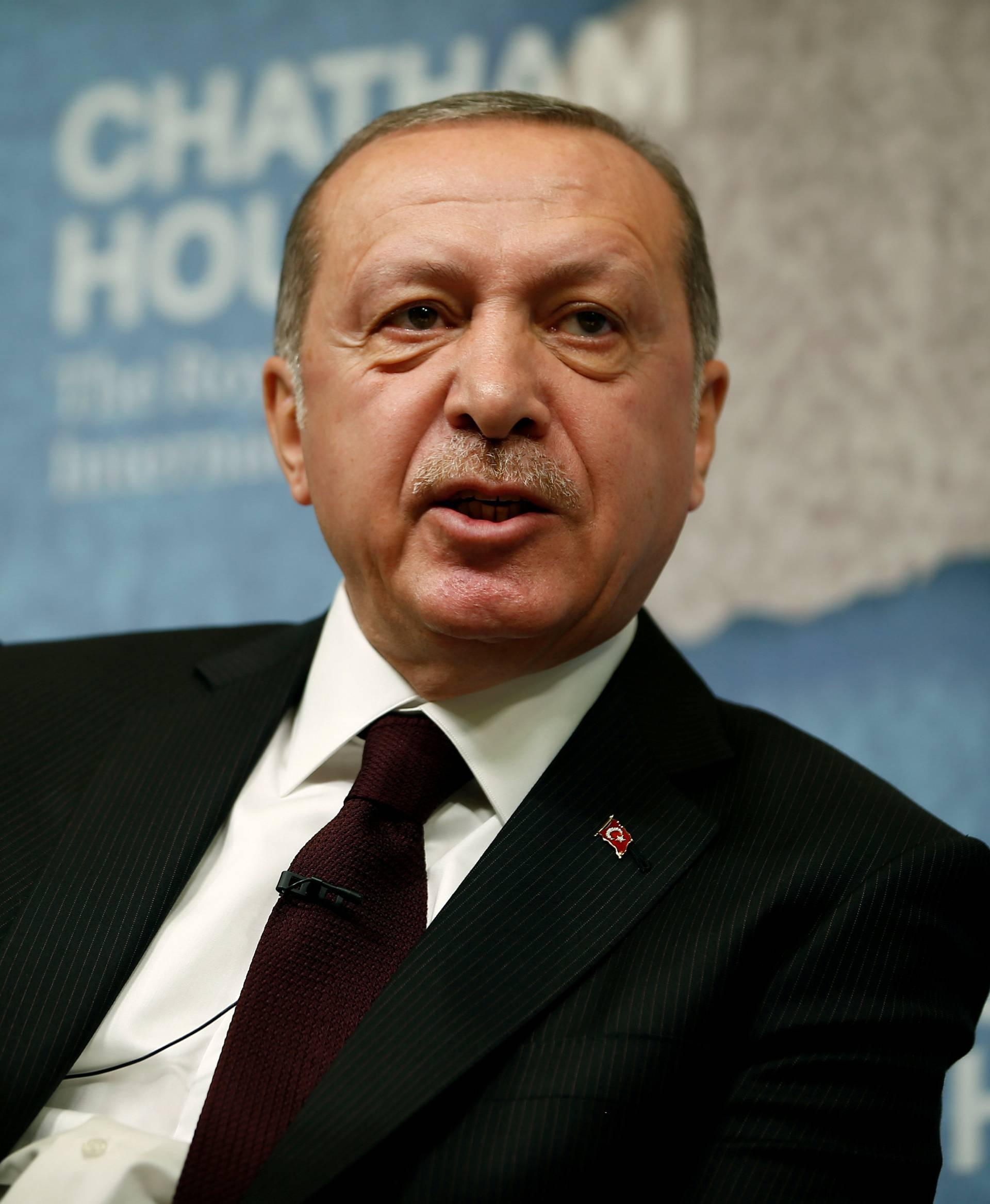 FILE PHOTO: The President of Turkey, Recep Tayyip Erdogan