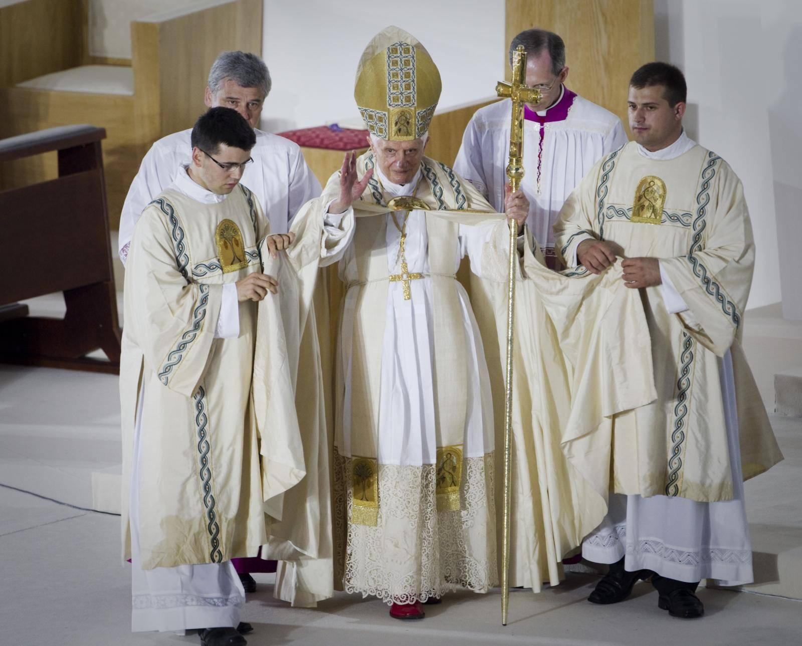 Pope Benedikt XVI visits Croatia