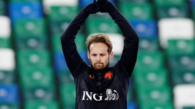 Euro 2020 Qualifier - Netherlands Training