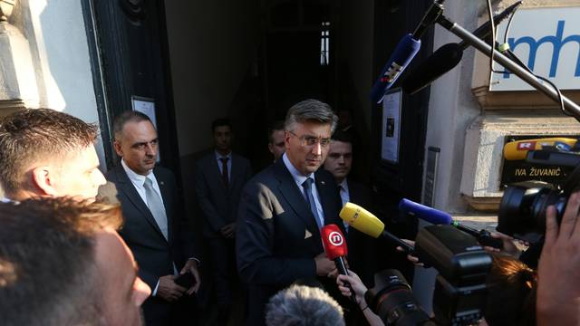 Zagreb: Andrej Plenković na obilježavanju 29. obljetnice osnutka Mladeži HDZ-a
