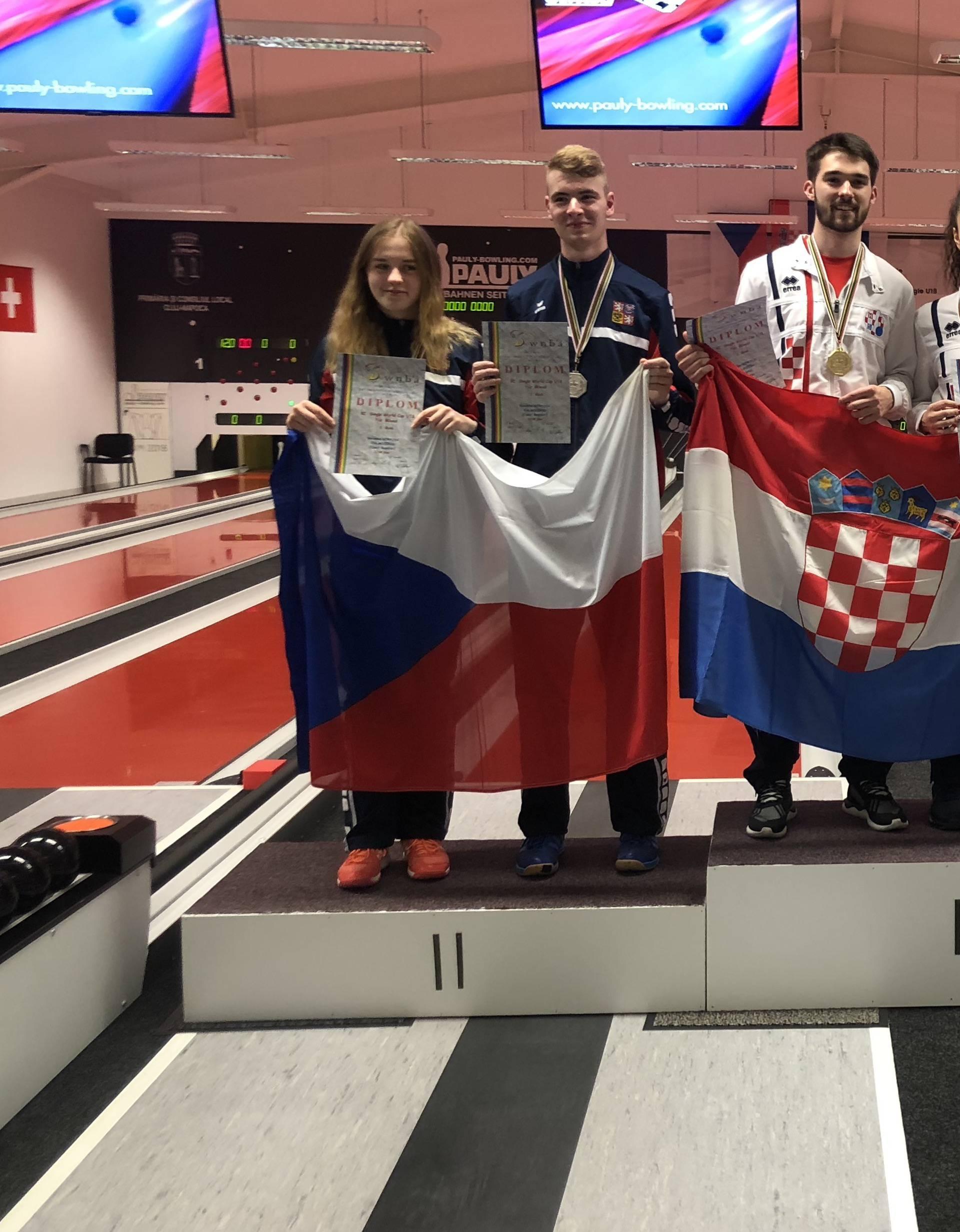 Tamara Sinković i Luka Požega zlatni na Svjetskom kupu
