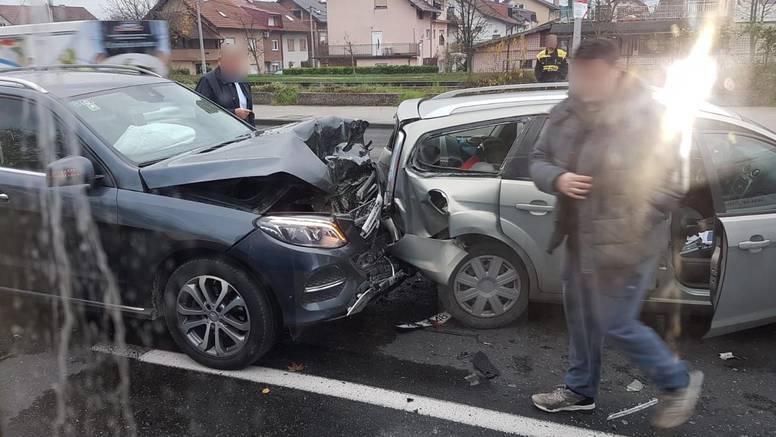 Lančani sudar u Zagrebu: 'Baš je bilo gadno, tamo uvijek jure'