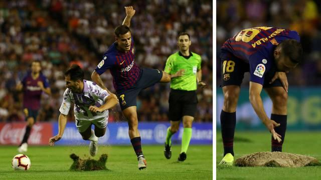 U Barci su bijesni zbog terena: Valladolid pod istragom La Lige