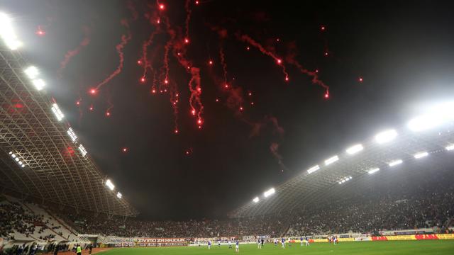 Hajduku 12.000 kuna kazne zbog bakljade, Mediću ukor