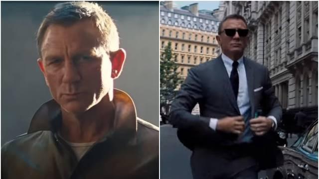 Craig zadnji put glumi Jamesa Bonda: 'Postajem sve stariji'