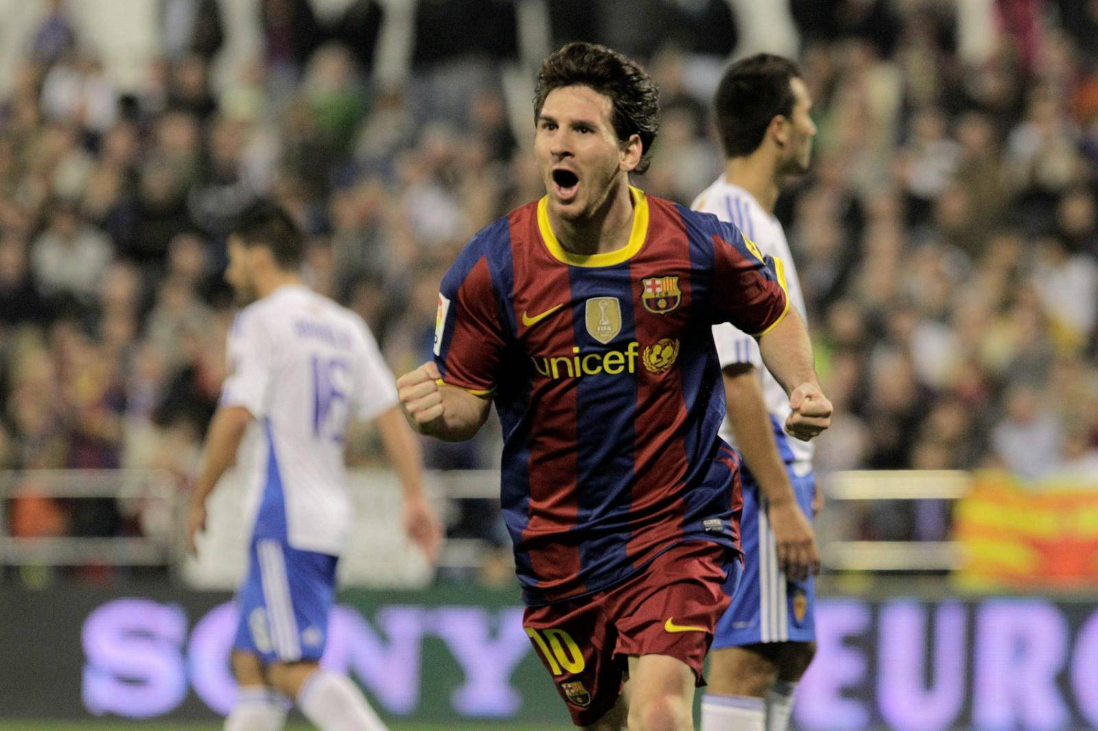 ESP, LA, REAL ZARAGOZA v FC BARCELONA