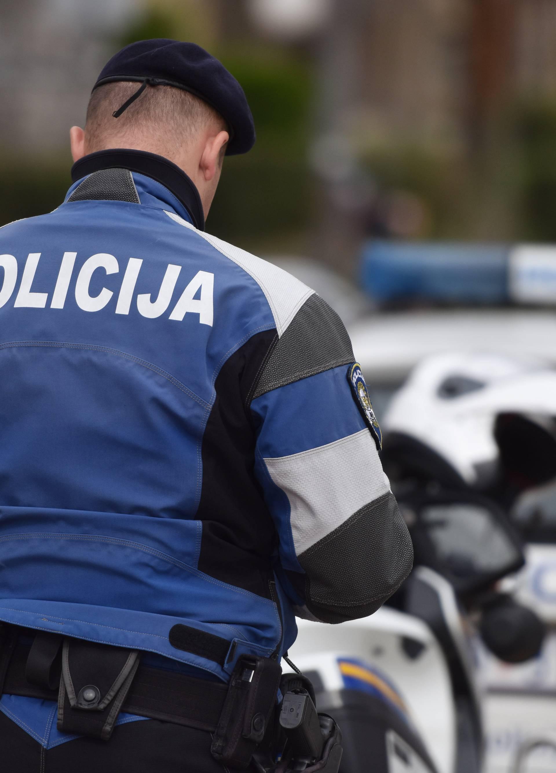 Auto sletio s ceste kod Svete Helene, poginuo jedan čovjek