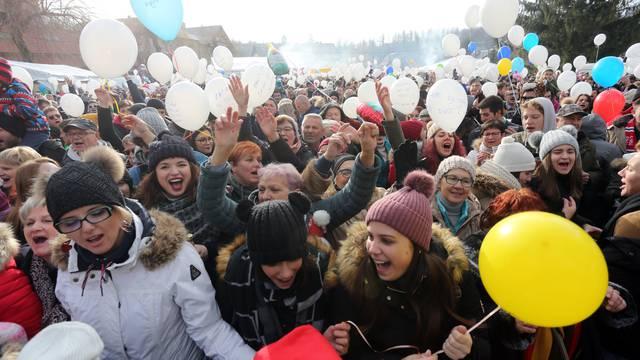 Dočekali Novu već u podne:  U Fužinama 10.000 posjetitelja!