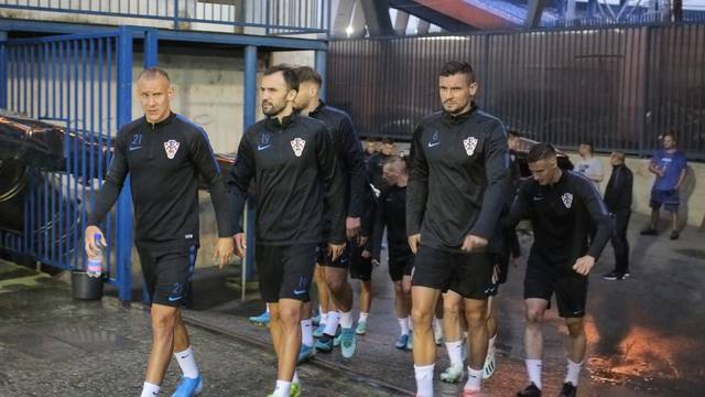 Zagreb: Reprezentativci odradili trening uoči utakmica protiv Slovačke i Azerbajdžana