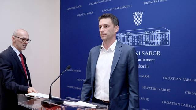 Zagreb: Petrov i Podolnjak o prijedlogu MOST-a za sankcije uskraćivanja informacija