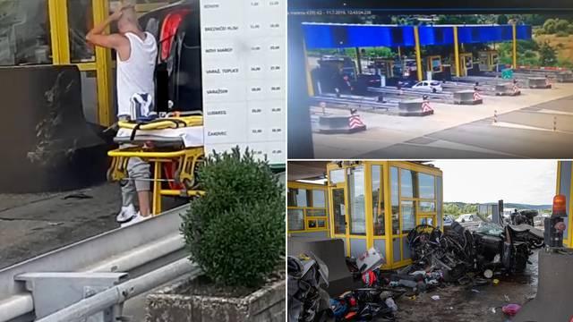Drogiran se na naplatnim kućicama BMW-om zabio u Škodu,  obitelj čudom  preživjela