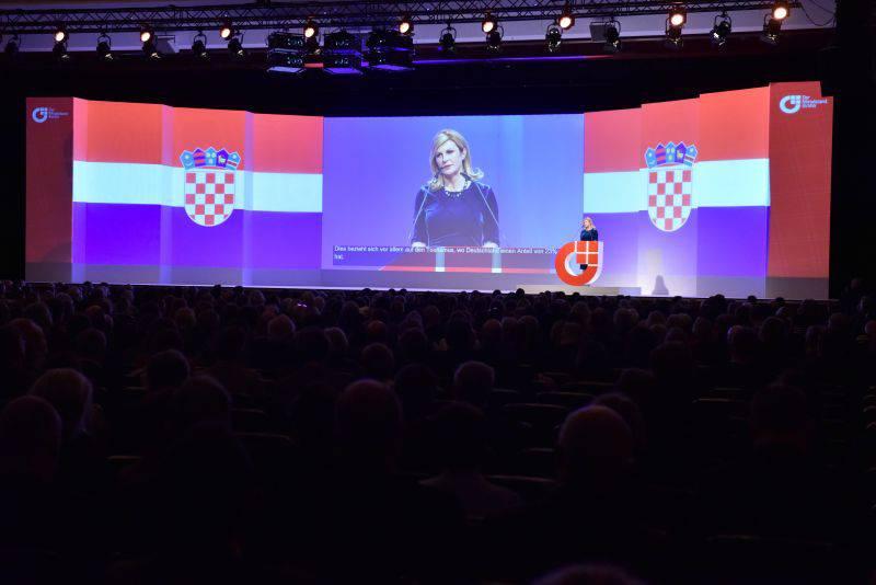 Kolinda otvorila Njemačko-hrvatski gospodarski forum