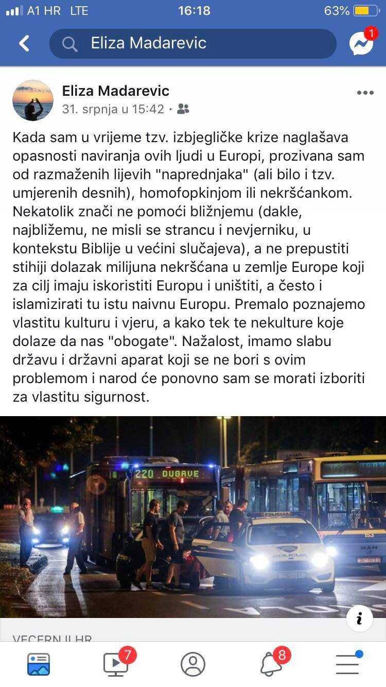 Ovo je hrvatska diplomatkinja: 'Bijela Europa je čista Europa'