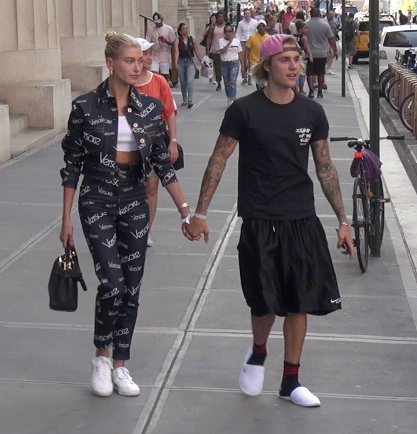 Hailey Baldwin and Justin Bieber sighting - New York