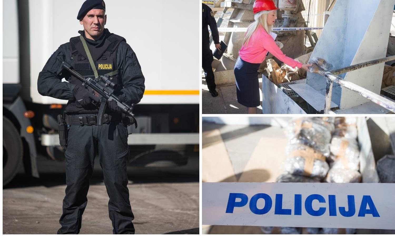 Policija u Našicama spalila je četiri tone zaplijenjene droge