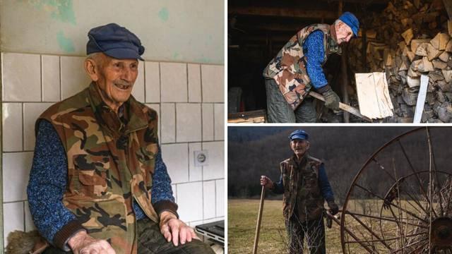 'Imam 95 godina i živim sam u selu. Prozor je moja televizija'