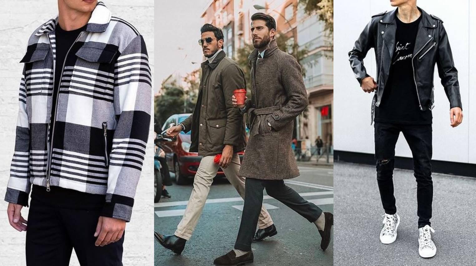 Muški trendovi za stylish jesen: Kožnjak i karirano plus smeđa