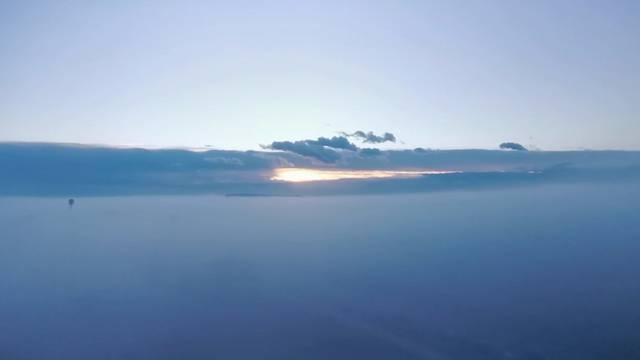 Pogled iz aviona? Pa i ne baš, ovo je Novi Zagreb u 7 ujutro