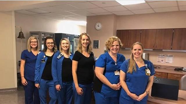 Rade na istom odjelu: Šest medicinskih sestara je trudno